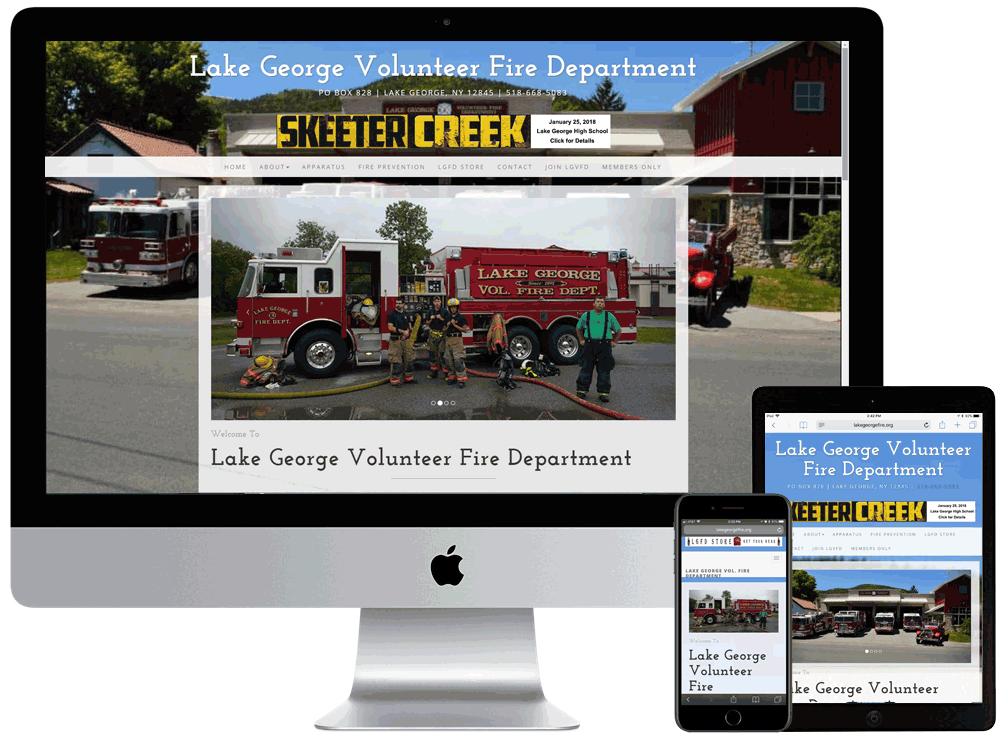 Lake George Volunteer Fire Company.